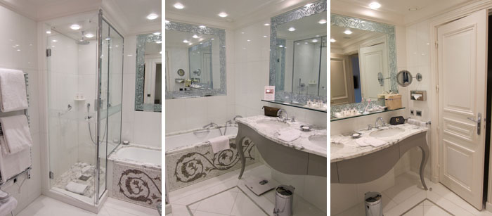 bath Suite at Hotel Plaza Athne Paris