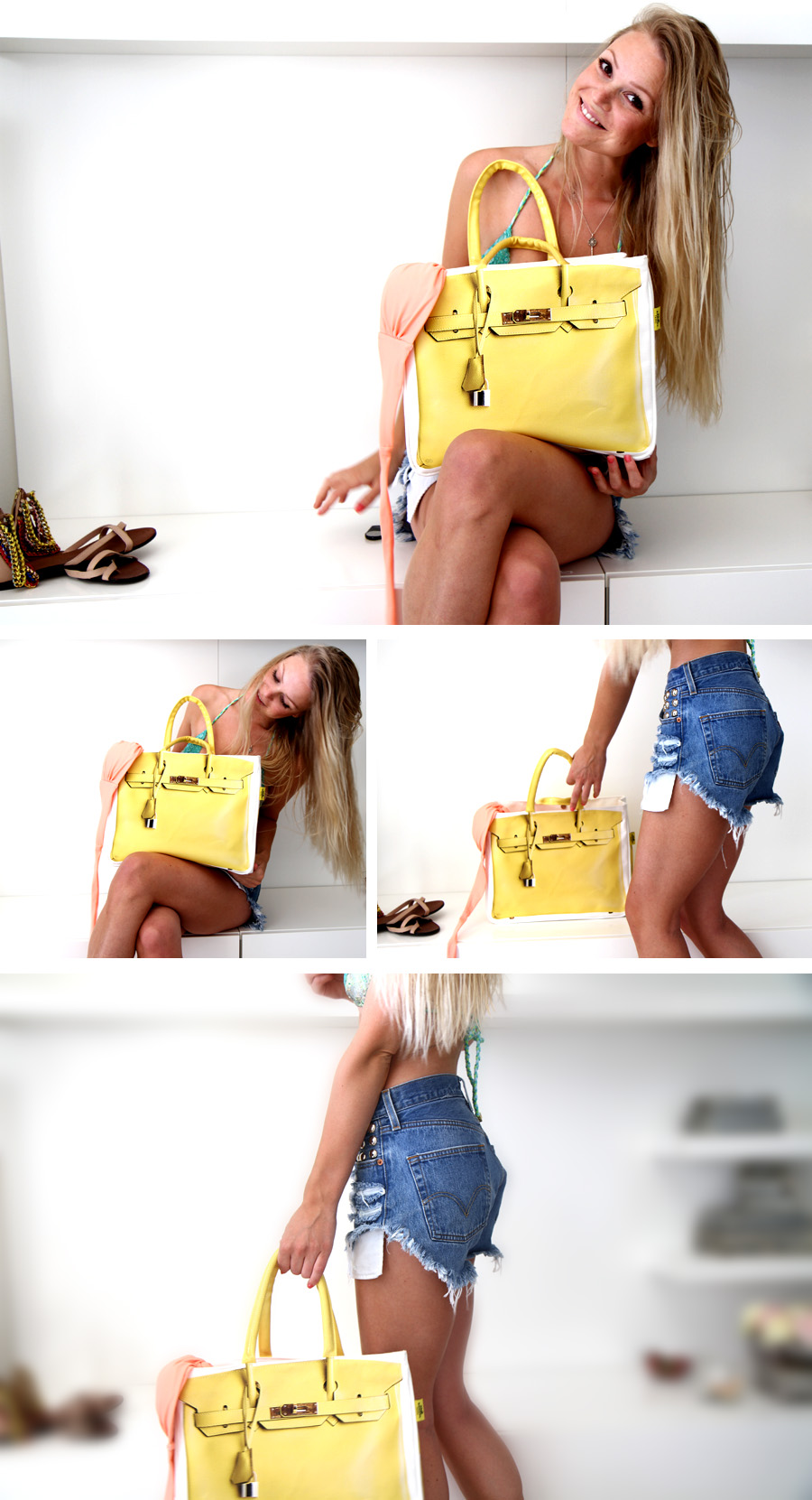 bag1 YELLOW   100% Earth Friendly <3