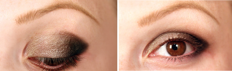 pic2 Makeup Tutorial: Smokey eye using the Naked Palette 2