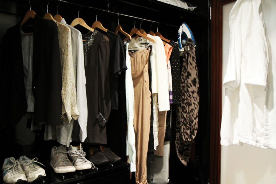 wardrobe Hotel life at Mayfair