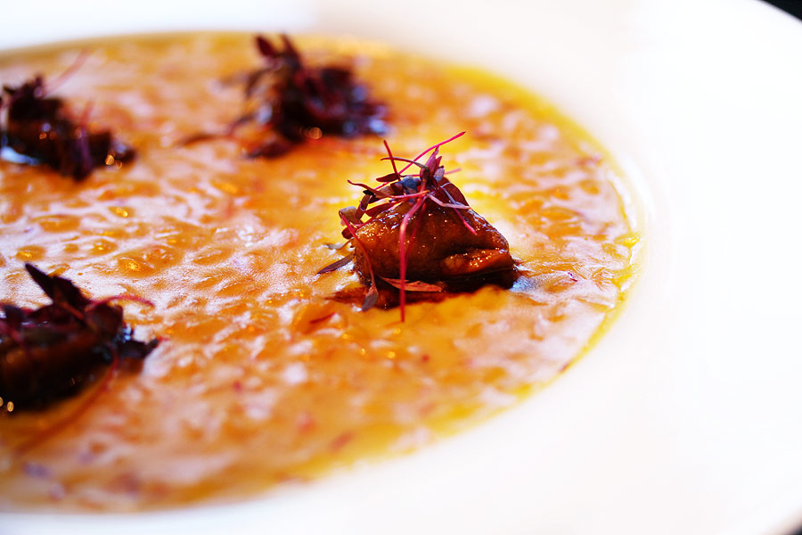 rice saffron Heston Blumenthal at Mandarin Hotel London