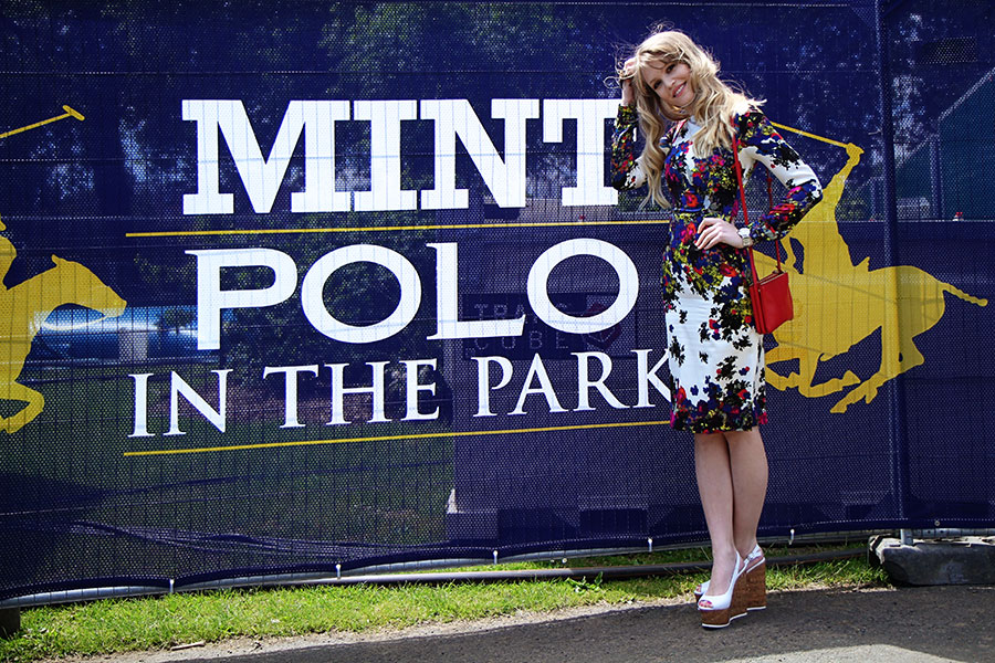 erdem floral dress polo mint in the park Polo in the Park