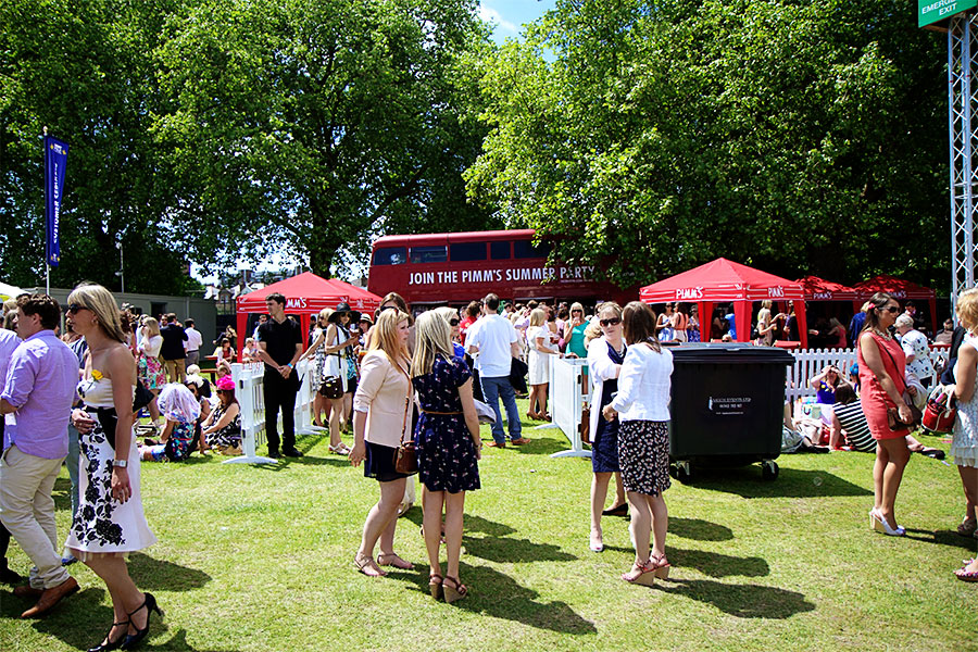 polo in the park 2013 pimms bus Polo in the Park