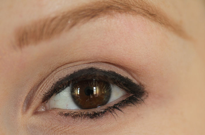 IMG 6650 How to: Easy smokey eye in brown using few products :)