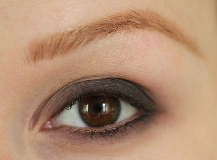 IMG 6660 How to: Easy smokey eye in brown using few products :)