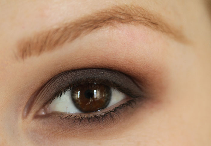 IMG 6662 How to: Easy smokey eye in brown using few products :)