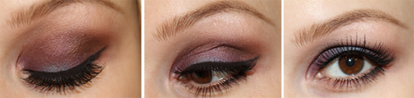 brownpurple Makeup tutorial   brown with a twist