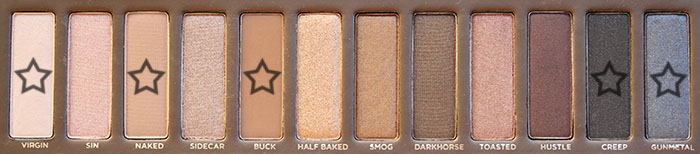 palette club Naked in the Night   Makeup tutorial with the Urban Decay Naked palette